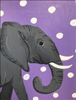 Polka Dot Elephant - All Ages!