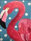 Animal Series-Flamingo- KIDS CLASS