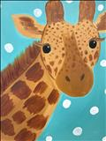 Kids- Animal Series-Giraffe!