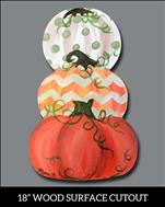 WOOD Cutout: Vintage Pumpkins