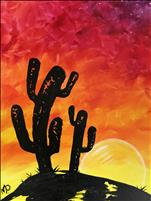 Sunset Cactus (All Ages)