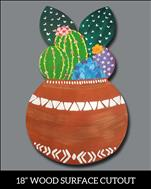 Cacti Pot Cutout AGES 13+