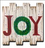 WOOD PALLET: JOY Wreath