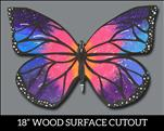 Galaxy Butterfly Cutout - All Ages!