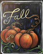 NEW ART - Pumpkins in Fall