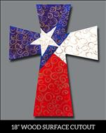 Swirly Texas Cutout