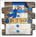 Let it Snow, Man Pallet
