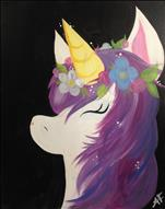 Family Fun, Only $25!  Flower Crowned Unicorn!