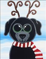Christmas Animals - Reindeer Puppy-PRIVATE!