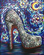 Late Night Paint Night:Starry Night Over Stilettos