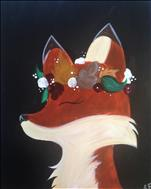 Flower Crown Fox/FAMILY FRIENDLY $25