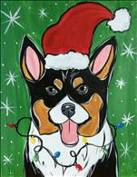 Paint Your Pop Art Holiday Pet