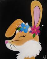 FAMILY PAINTING-Flower Crown Bunny