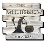 Open Class - The Witch's Brew Door Decor