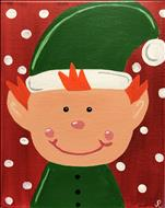 Holiday Elf OR Santa-$25 a Painter