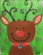 Holiday Reindeer Kids-Such a CUTIE for ages 6+