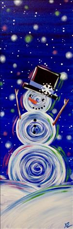 *10x30 Canvas* Frosty Magic