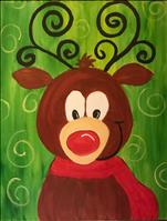 Kid's Crazy Reindeer