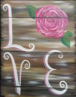 Rustic Love Rose