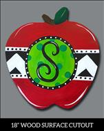 ALL AGES - Apple Monogram (YOU CHOOSE!)