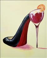 New Art - Sangria Stiletto