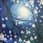 White Moonlit Blossoms