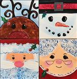 Holiday Squares - You Choose! Single or Set!
