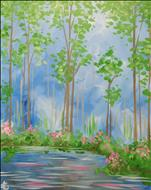 **COFFEE AND CANVAS** Tranquil Pond