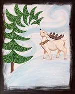 Camp Day 5 - Winter Reindeer