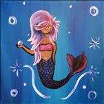 12x12 Sassy Mermaid / TEENS AND UP