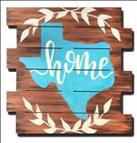 Texas My Home Pallet - pick colors for Texas!