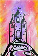 Splatter Paint Magic Castle--Kid's Camp! (Ages 6+)