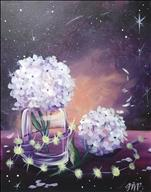 Tranquil Tuesdays *Galactic Hydrangeas* Ages 14+