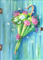 April Showers Bring May Flowers! Large Canvas