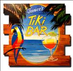 Tiki Bar WOOD PALLET