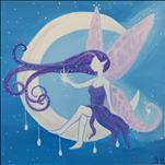 NEW 12X12 SIZE! Moon Fairy (ADULT CLASS)