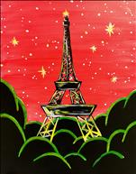 **KIDS AND KANVAS** Sparkly Eiffel Tower