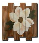 Magnolia Medallion Wood Pallet
