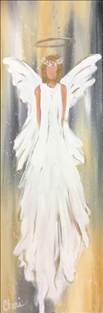 TALL 10x30 Canvas: Angel