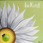 **COFFEE & CANVAS** Be Kind Daisy