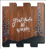 *WOOD PALLET* Gratitude and Wonder