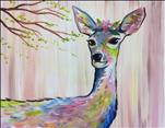Colorful Flower Deer - Doe...Relax w/ US! 18+