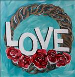 Love Rose Wreath - 13&Up - Customize