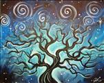 Coffee and Canvas: Starry Tree