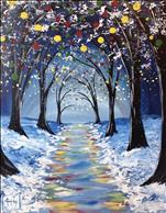 Holiday Path - Sip and Paint
