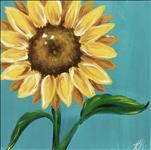 KIDS CAMP/Seurat's Sunflower!