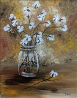Tranquil Tuesday: Cotton Jar