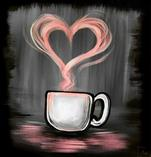 #NationalIrishCoffeeDay- True Love on a 12X12-$30