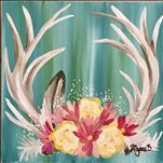 *12x12* Spring Antlers - Teens and Up!