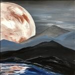 Terrestrial Moon *Square Canvas*